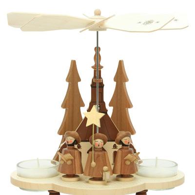 Tea Light Pyramids